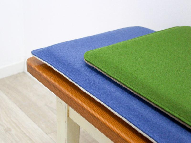 bankauflagen bankauflage nach ma aus filz mit runden ecken. Black Bedroom Furniture Sets. Home Design Ideas