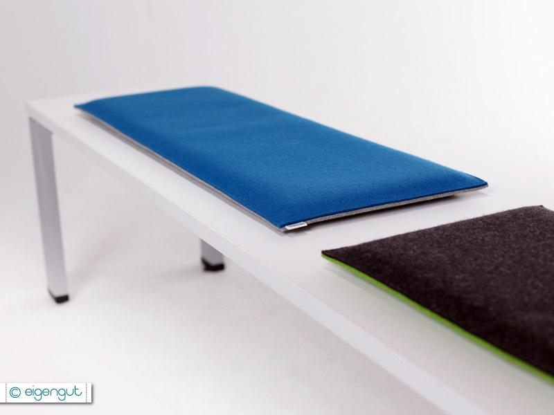 bankauflagen bankauflage nach ma aus wollfilz gepolstert. Black Bedroom Furniture Sets. Home Design Ideas