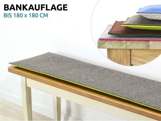 wohnen wandkissen gepolstert aus wollfilz nach ma. Black Bedroom Furniture Sets. Home Design Ideas