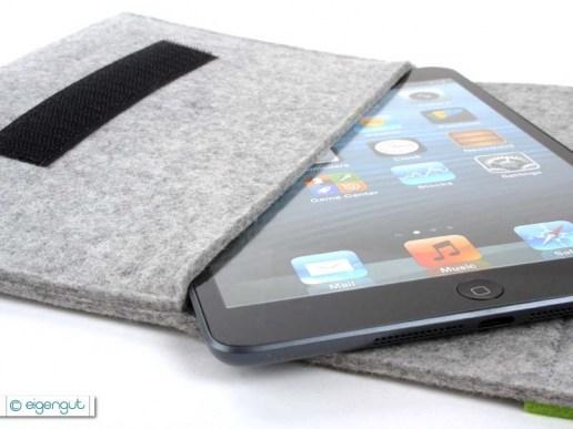 tablettaschen tasche m nnersache oder wunschtext passend f r ipad mini ereader. Black Bedroom Furniture Sets. Home Design Ideas