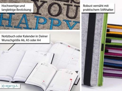 papeterie kalender notizbuch mit deiner wunschaufschrift. Black Bedroom Furniture Sets. Home Design Ideas