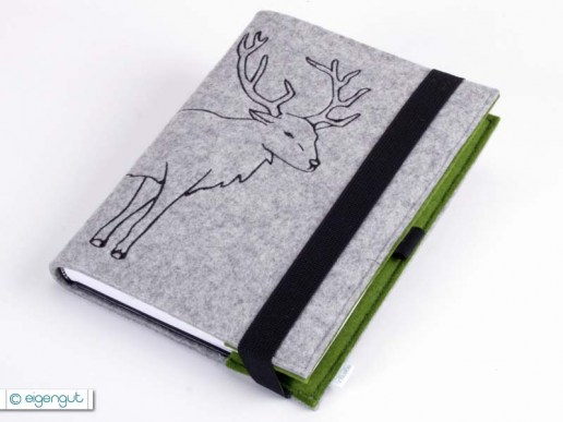 kalender kalender notizbuch hirsch a6 a5 a4. Black Bedroom Furniture Sets. Home Design Ideas