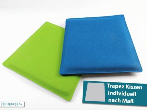 sitzkissen sitzkissen gepolstert trapez individuell nach ma. Black Bedroom Furniture Sets. Home Design Ideas