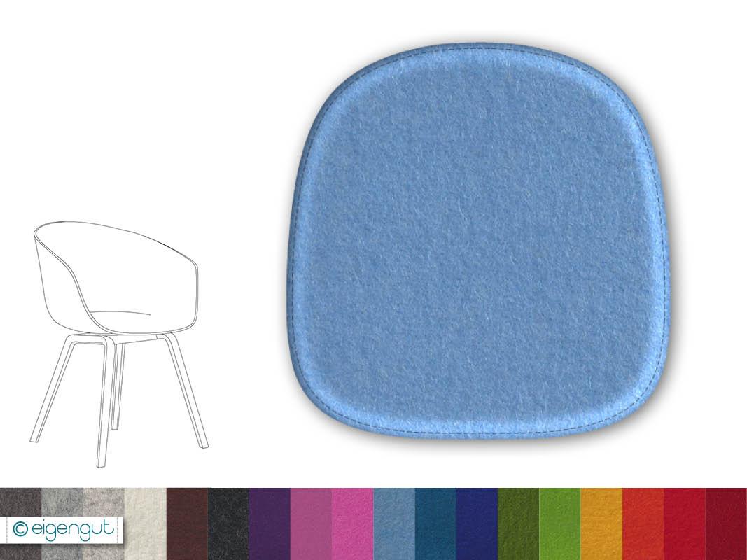 sitzkissen f r designerst hle sitzkissen aus filz passend f r hay about a chair. Black Bedroom Furniture Sets. Home Design Ideas